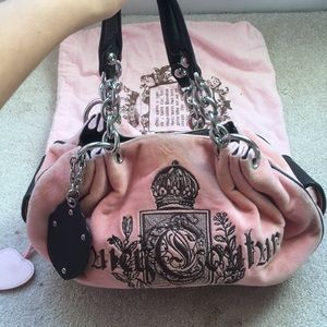 Juicy Couture bag with dustbag